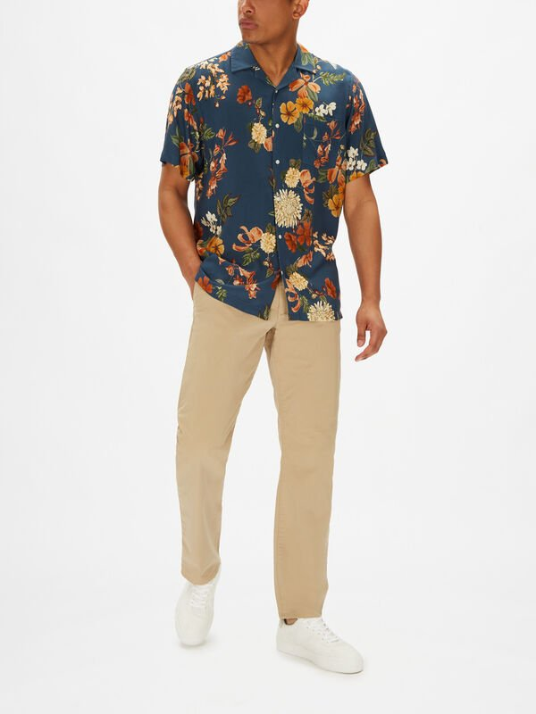 Shortsleeve Flower Shirt