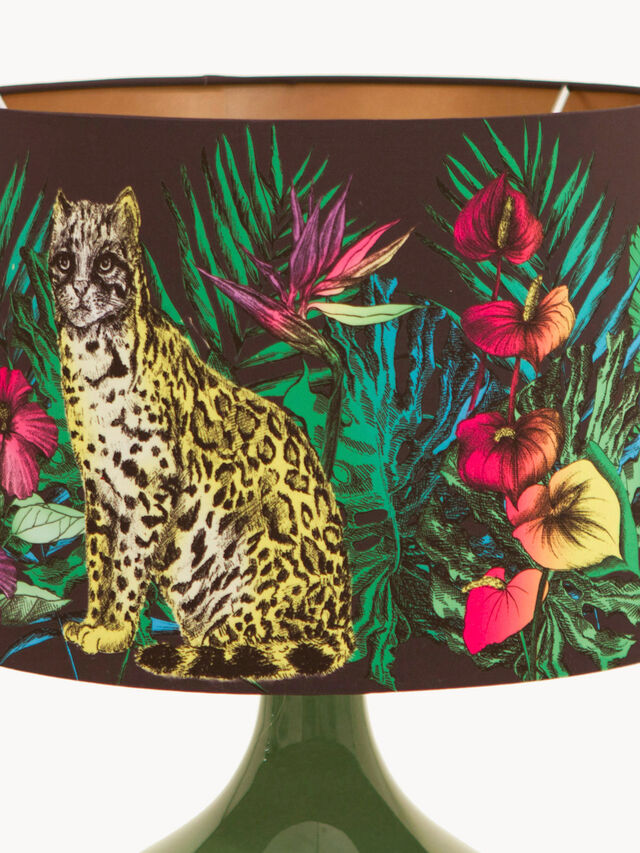 Midnight Jungle Table Lamp