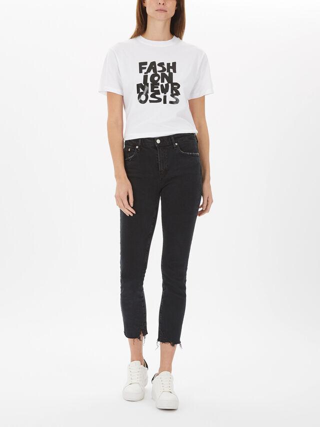 Toni Mid Rise Slim Straight Jeans