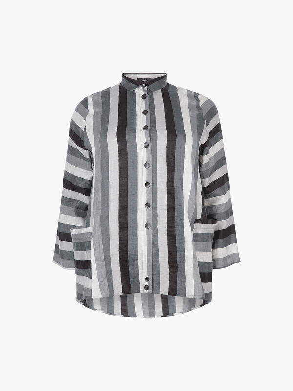 Striped OS Swing Shirt