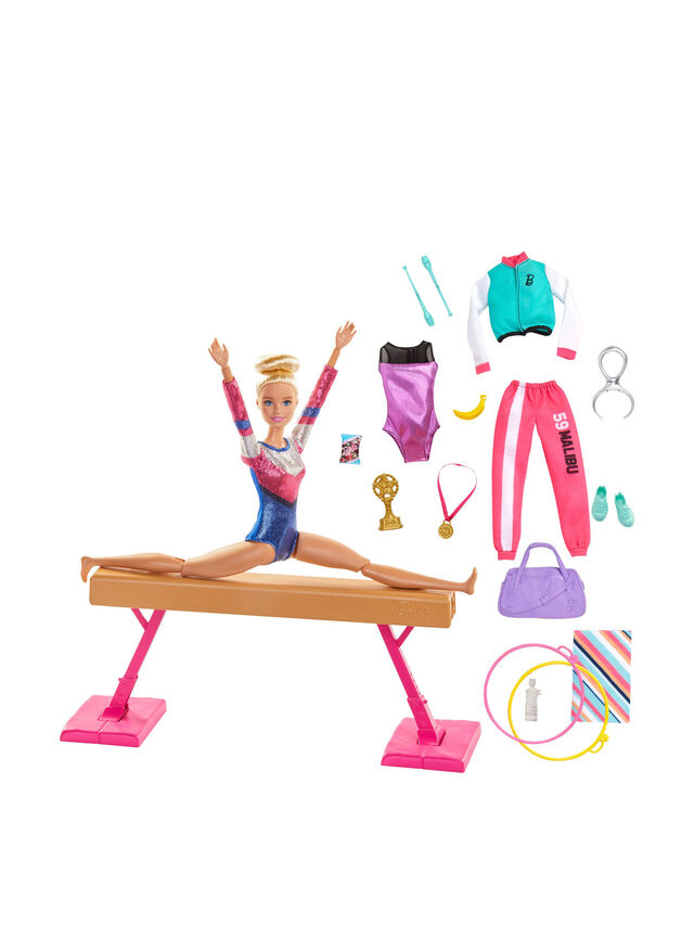 Gymnastics Doll And Accessories