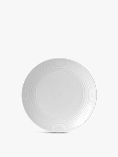 Maze White Plate 22cm