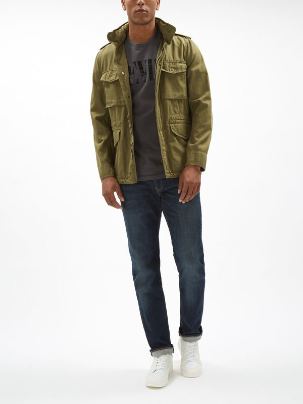 Herringbone Field Jacket