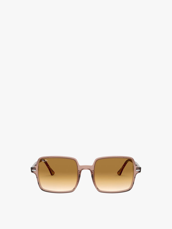 Thin Square Acetate Sunglasses