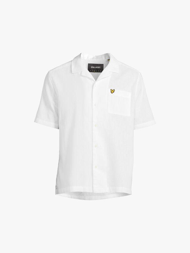 Cotton Linen Resort Shirt
