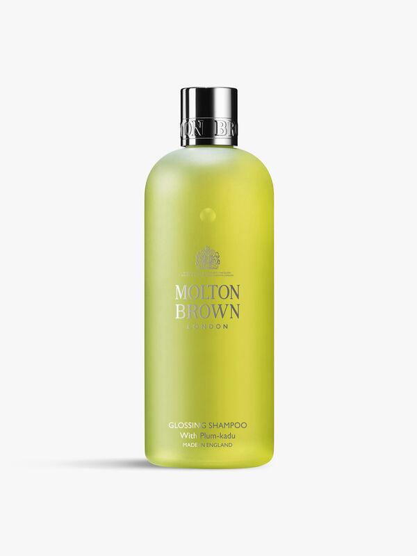 Glossing Shampoo With Plum-Kadu