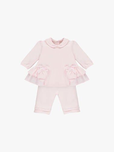 2pc-BFT-Top-with-side-frills-and-bows,-and-Trouser-6469pp
