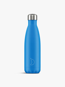 Neon Blue Water Bottle