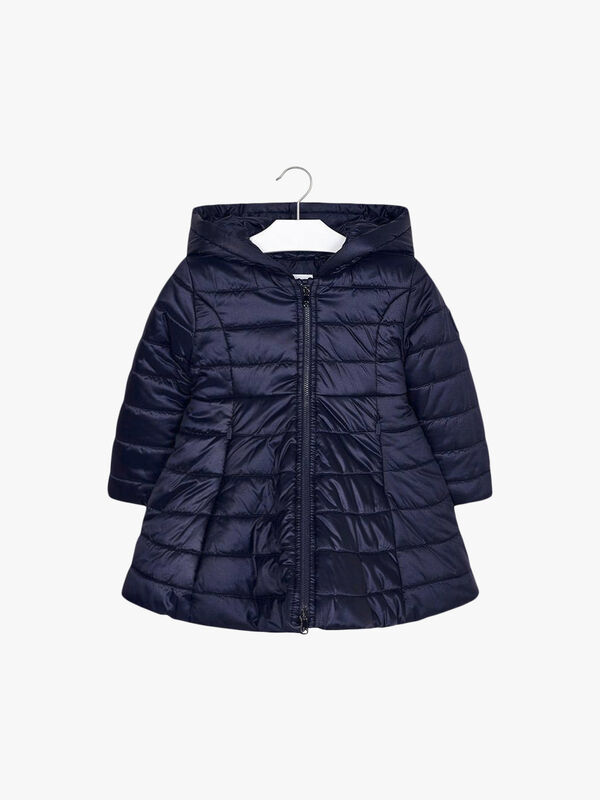 Padded Flare Coat