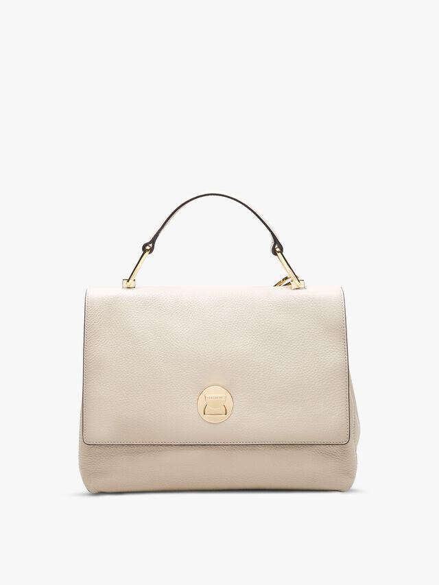 Liya Leather Small Top Handle Bag
