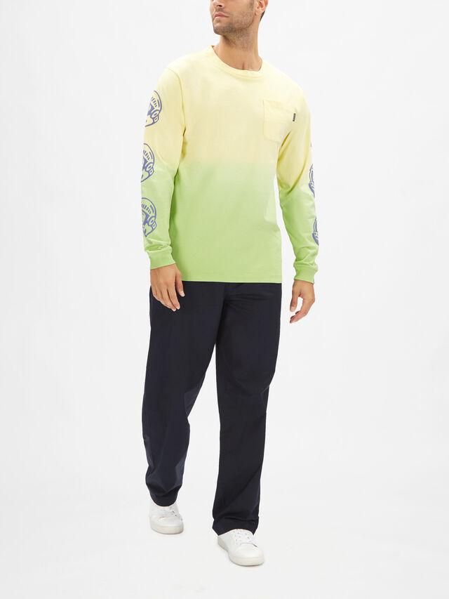 Dip Dye Long Sleeve T-Shirt