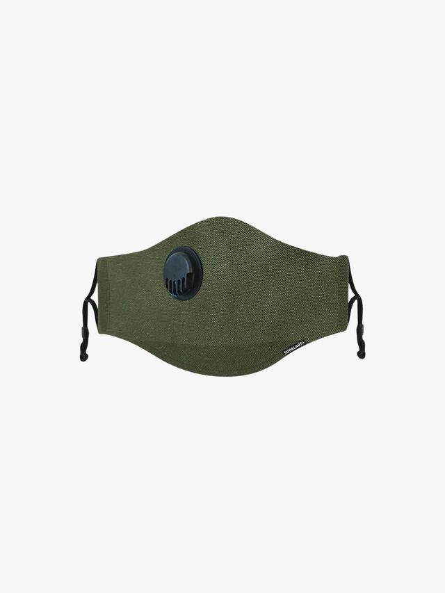 Supa Labs Army Green Face Mask