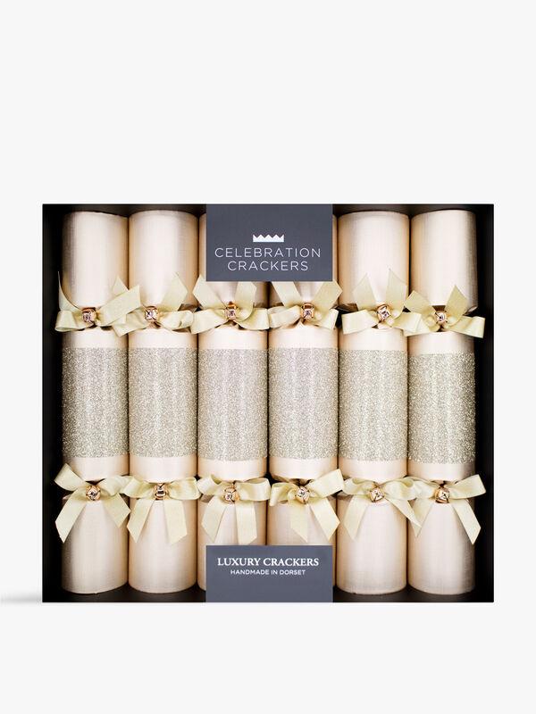 Glittery Wine Charm Crackers