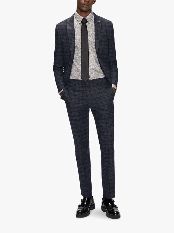 EDENSS Long Sleeve Slim Fit Shirt