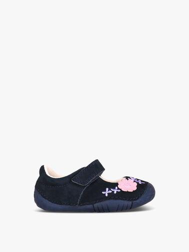Petal-Navy-Nubuck-Baby-Shoes-0771-9