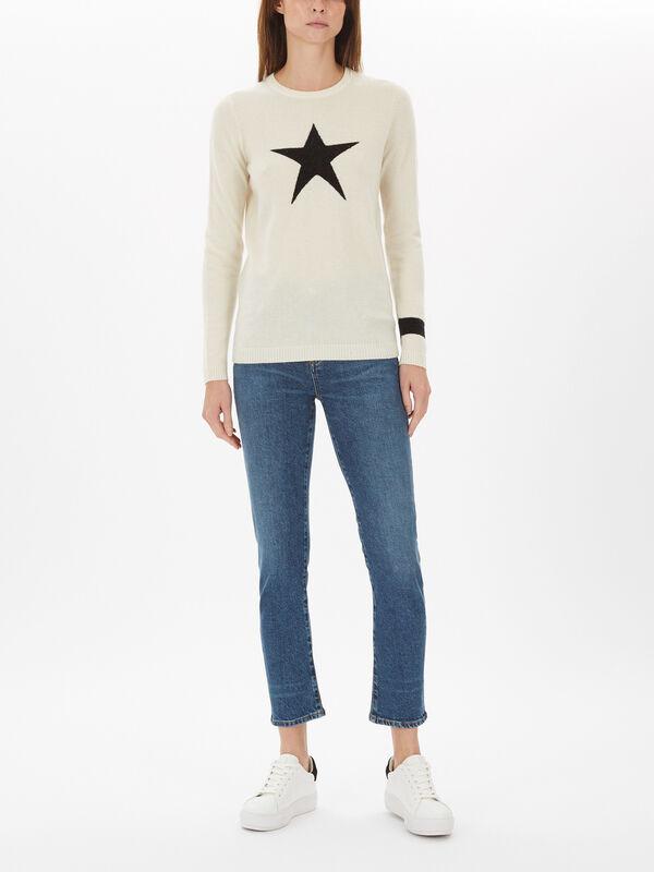 Night Star Jumper Cashmere Mix