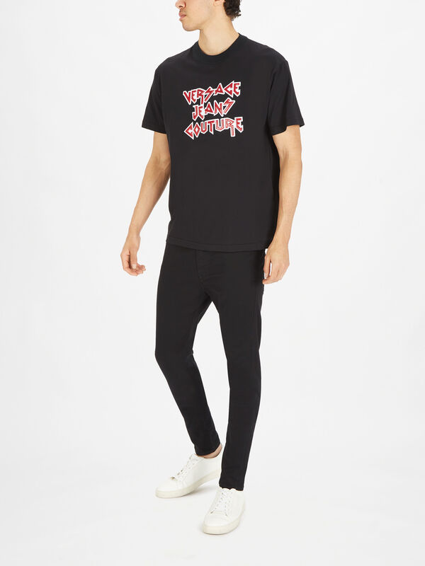 Rock Motif T-Shirt