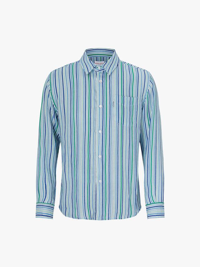Milan Stripe Linen Shirt