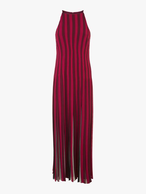 Luxe Multi Stripe Print Dress