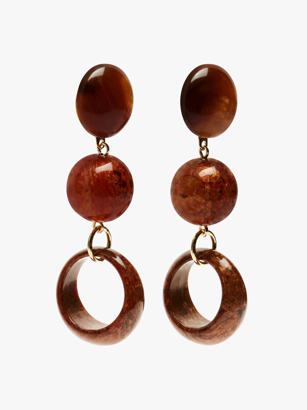 Small Open Circle Clip Earrings