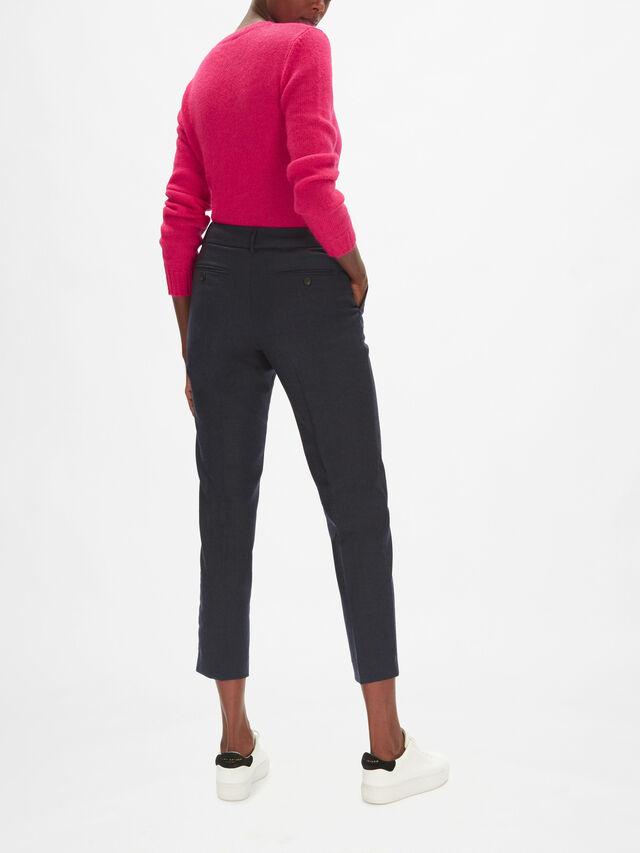 Ondata Slim Fit Wool Trousers