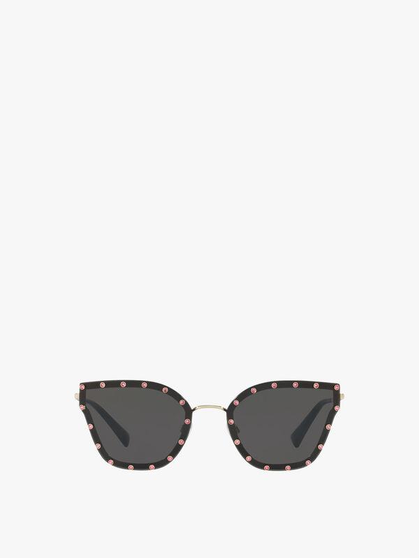 Stud Cat-Eye Sunglasses