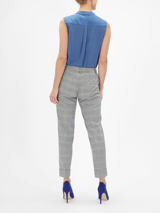 Turn Up Tapered Trouser