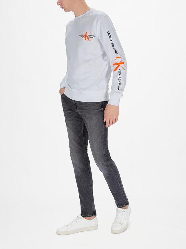 Organic Cotton Graphic Logo Sweatshirt