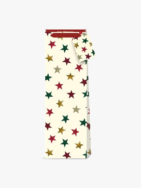 Emma Bridgewater Christmas Stars Bottle Bag