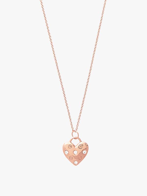 Screw Heart Necklace
