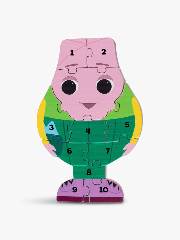 Mr Onion Number Puzzle