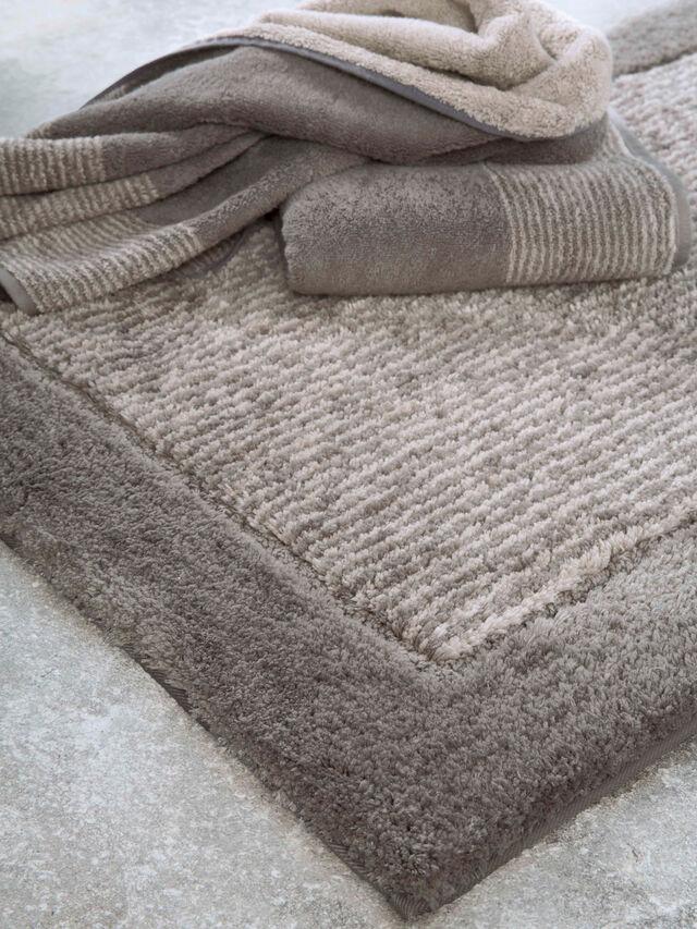 Two Tone Edge Face Towel