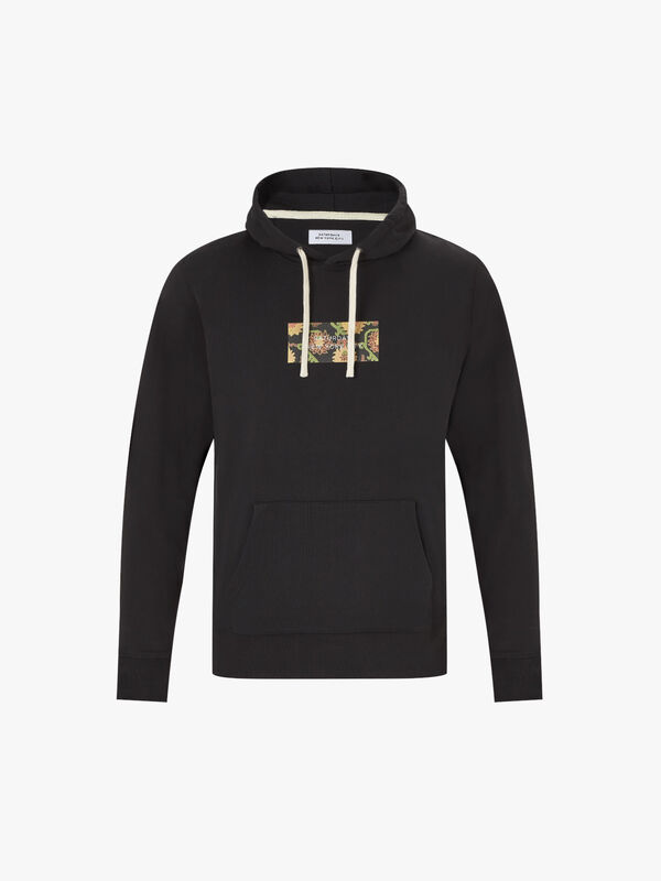 Ditch Peony Rectangle Hoodie