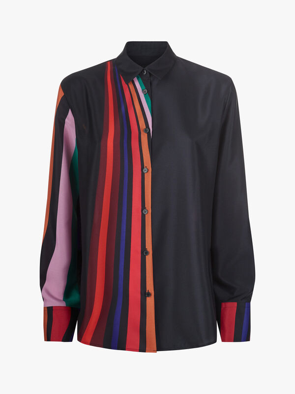 Rainbow Stripe Shirt