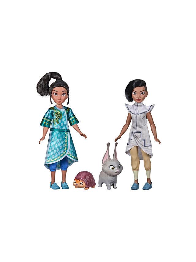 Disney's Raya and The Last Dragon Young Raya and Namaari Pack