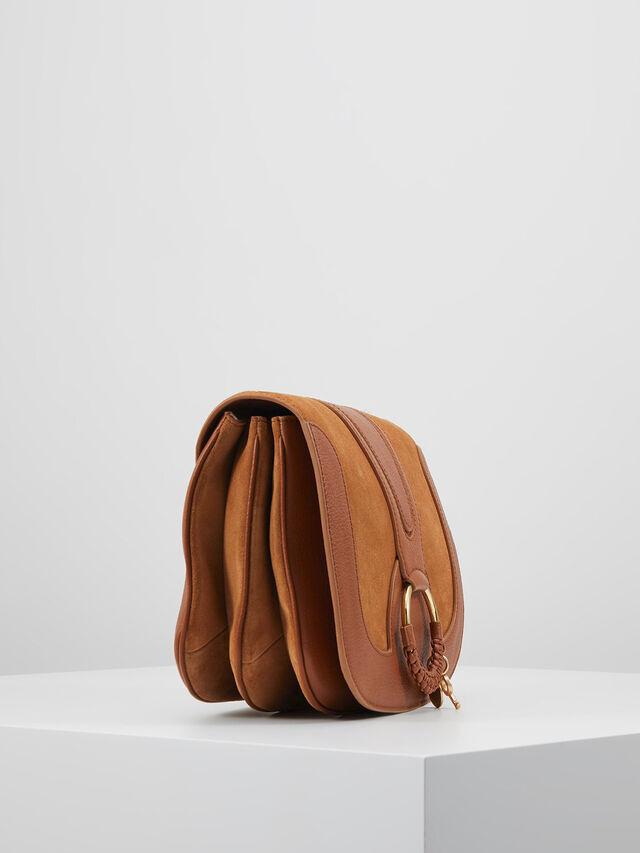 Hana Suede Leather Camera Bag