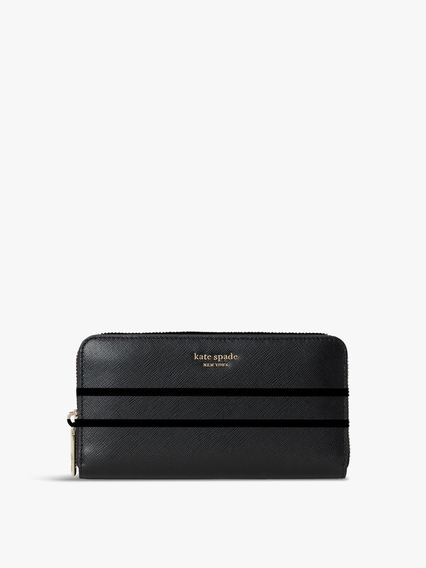 Spencer Zip Around Continental Wallet