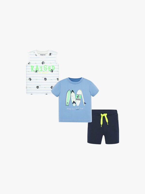 Surf Board 3 Piece Set