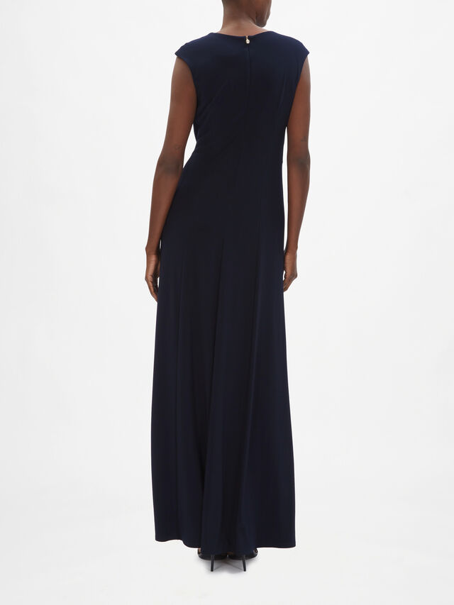 HW Cap Sleeve Maxi Dress