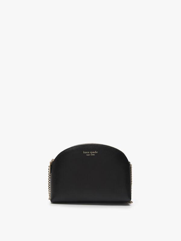 Spencer Double Zip Dome Crossbody Bag
