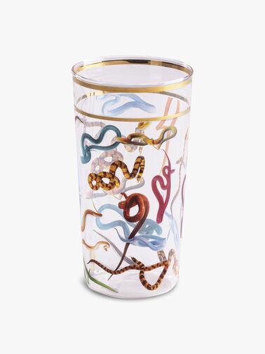 Toiletpaper Snakes Glass