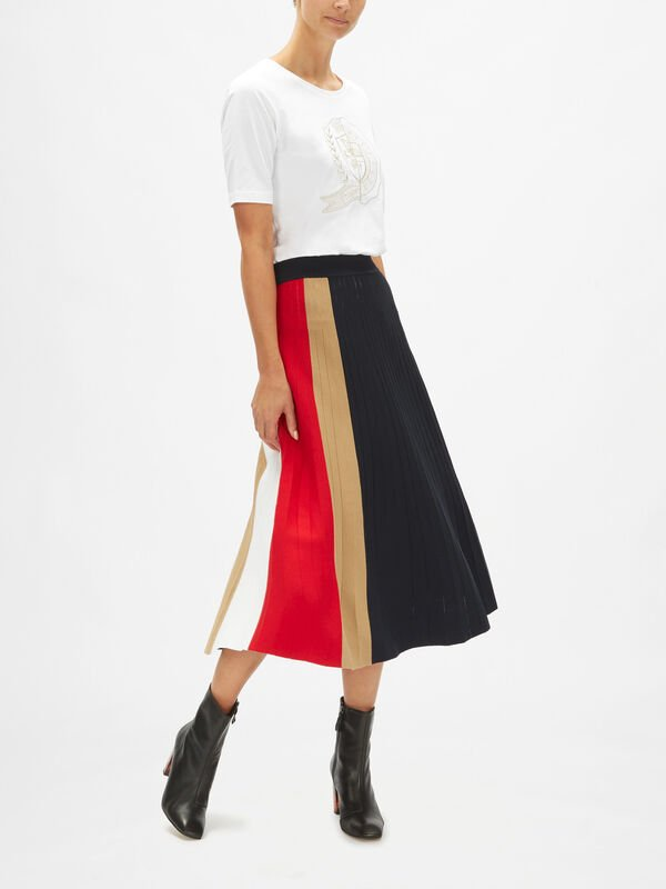 Icons Pleated Skirt