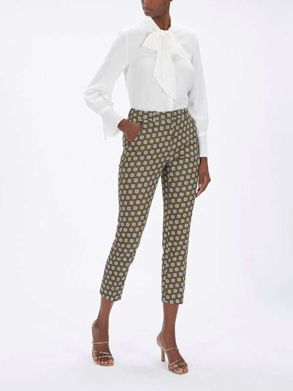 Astrale Printed Cotton Pant
