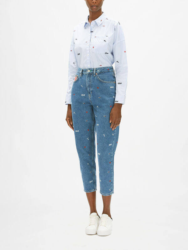 Mom Jean High Rise Tapered