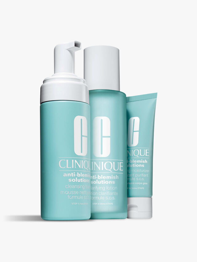 Anti-Blemish Solutions 3-Step System