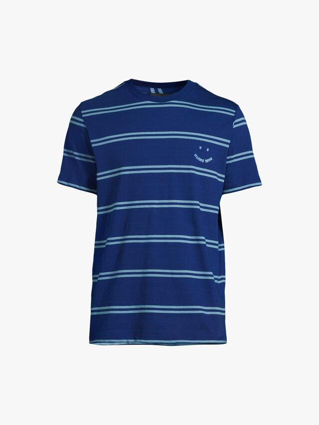 Happy Face Stripe T-Shirt
