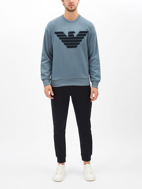 Large Eagle Logo Sweatshirt
