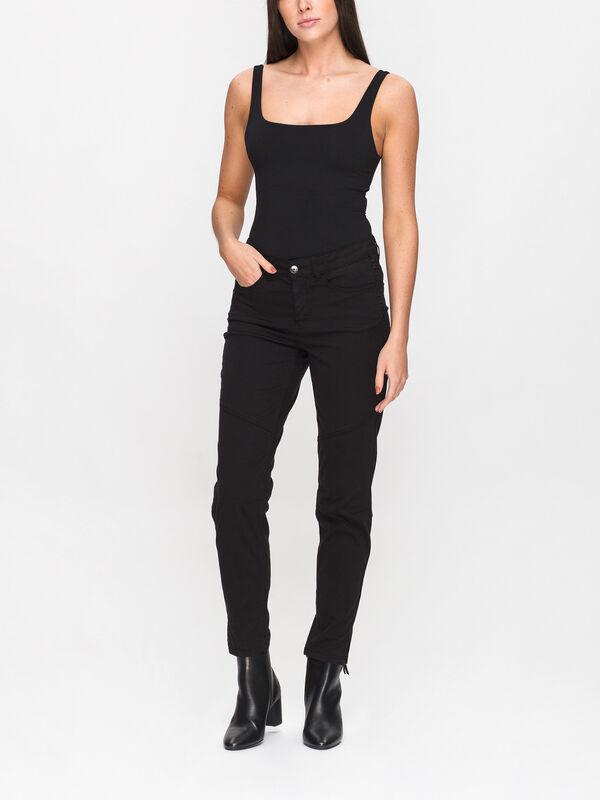 Stud Detail Slim Jeans
