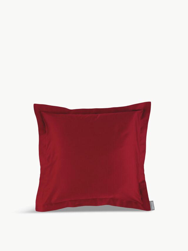 Rosso Uni Pillow Case