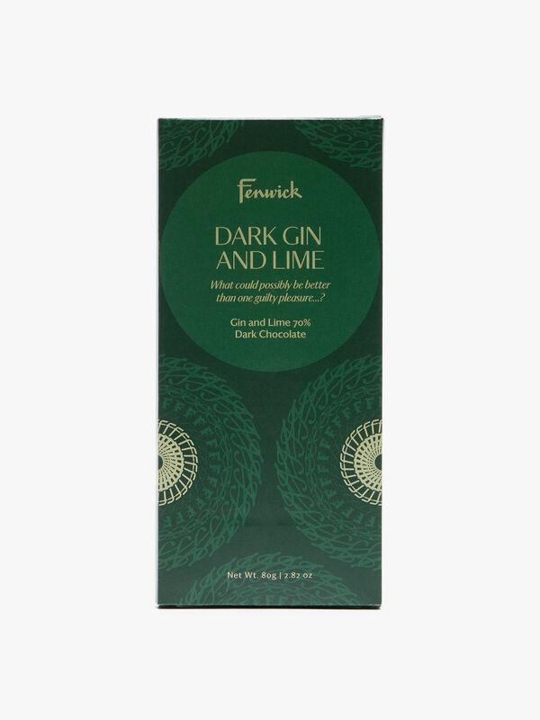 Gin and Lime 70% Dark Chocolate 80g